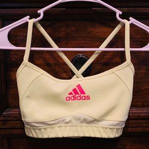 Adidas Criss-Cross Clima-Cool Sports Bra, Small